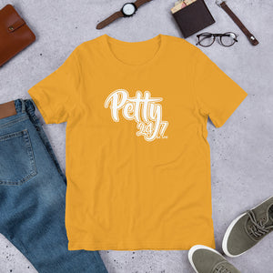 Petty 24/7 Short-Sleeve Unisex T-Shirt (White print)