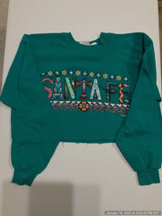 Santa fe crop crewneck - Fitted Laundry