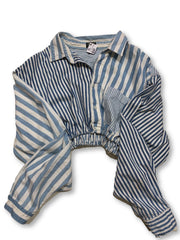 Sinched Striped - Fitted Laundry