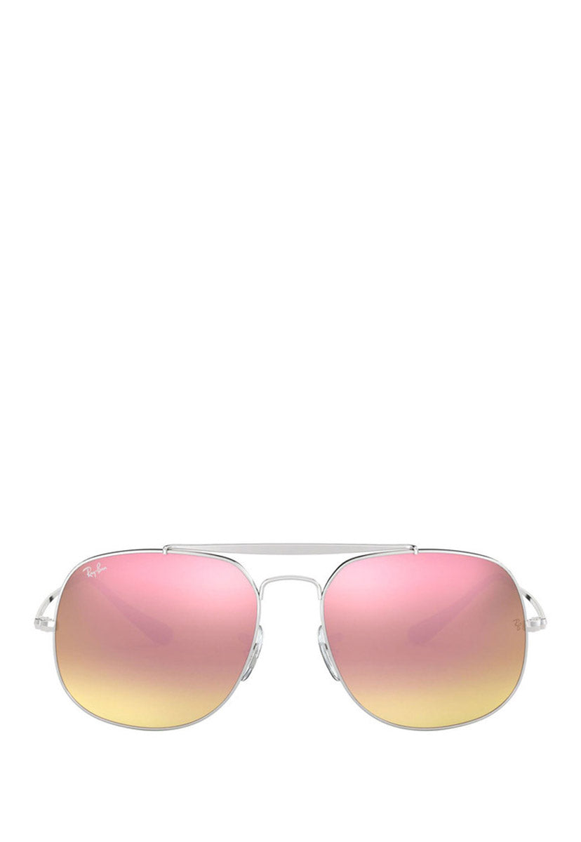 Lentes de Sol General RB3561 003/7O 57 mm Color Rosa - Ray Ban