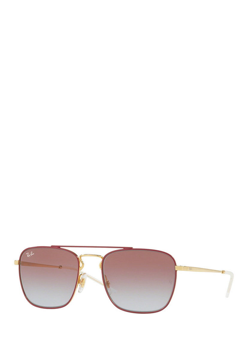 Lentes de Sol RB3588 9060I8 55 mm Color Rojo - Ray Ban