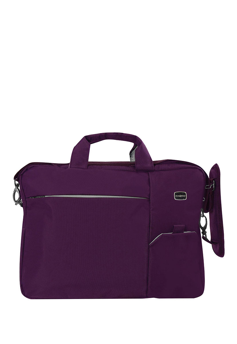 Portafolio Laptop Morado - Peak Tour