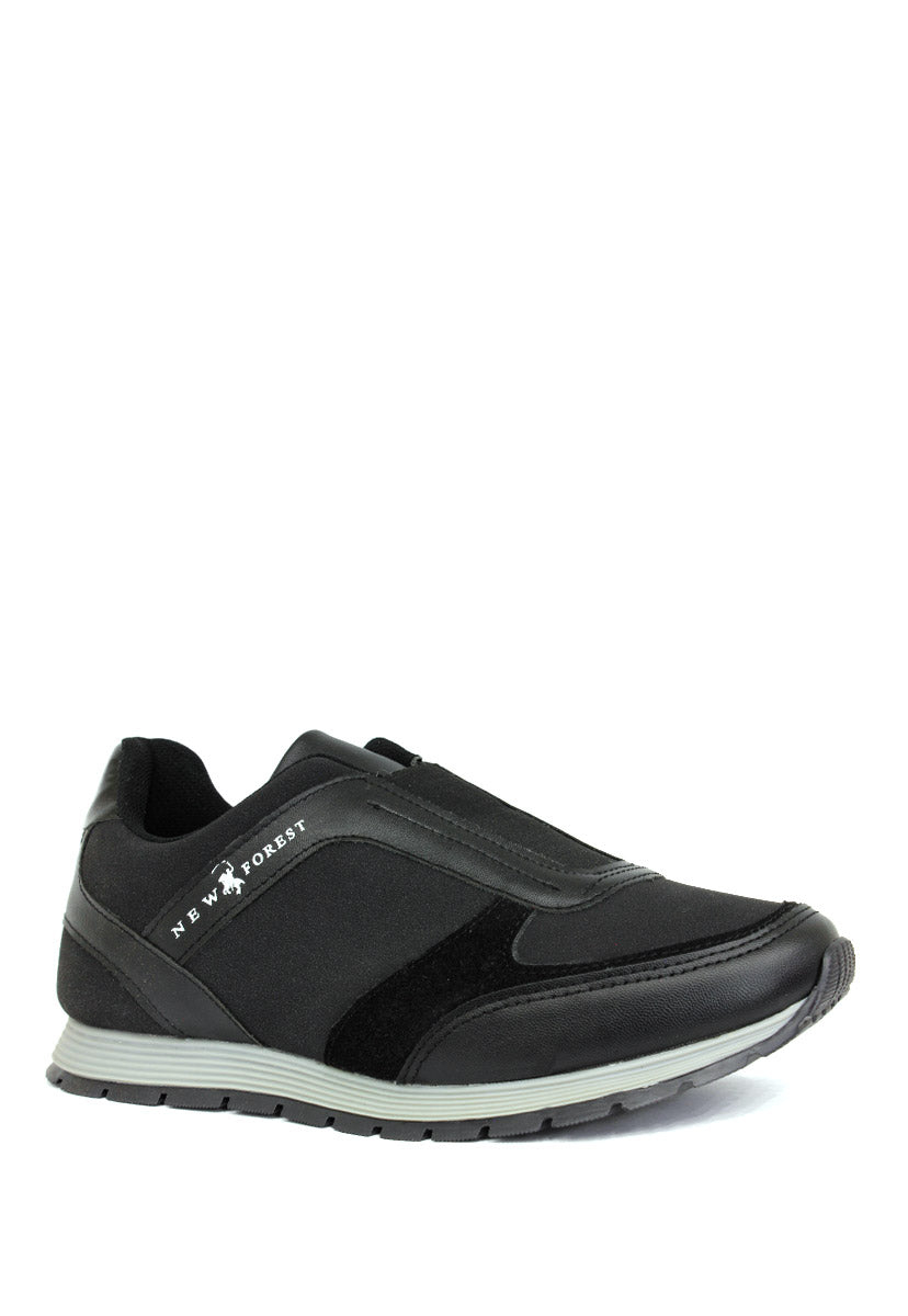 Tenis Deportivo Color Negro C3350N - New Forest Polo Club