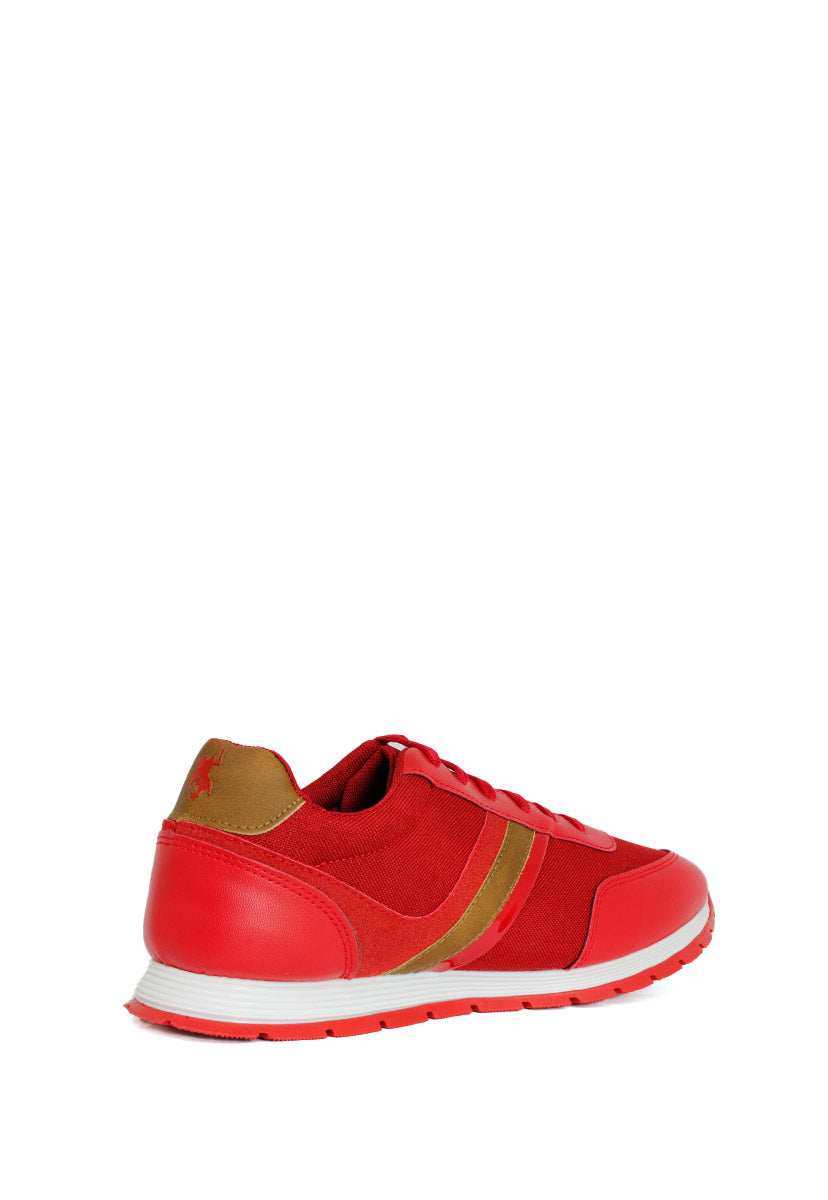 Tenis Deportivo Color Rojo D550RR - New Forest Polo Club