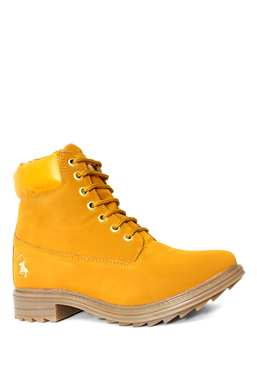 Bota Color Amarillo/Mostaza D2900AM - New Forest Polo Club