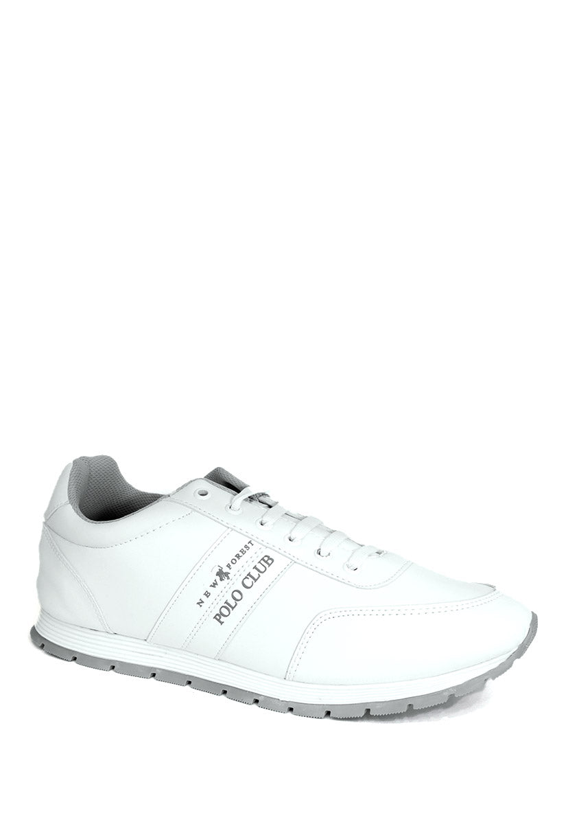 Tenis Deportivo Color Blanco/Gris C850BG - New Forest Polo Club