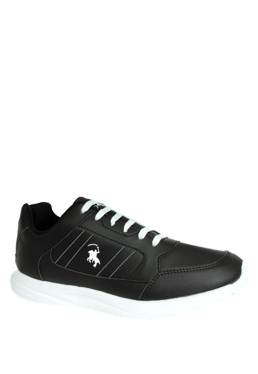 Tenis Casual Color Negro/Blanco C4200NB - New Forest Polo Club