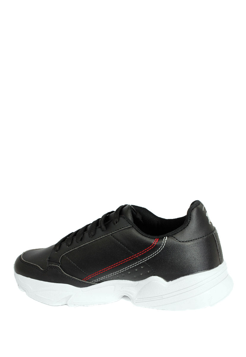 Tenis Deportivo Color Negro D5250N - New Forest Polo Club
