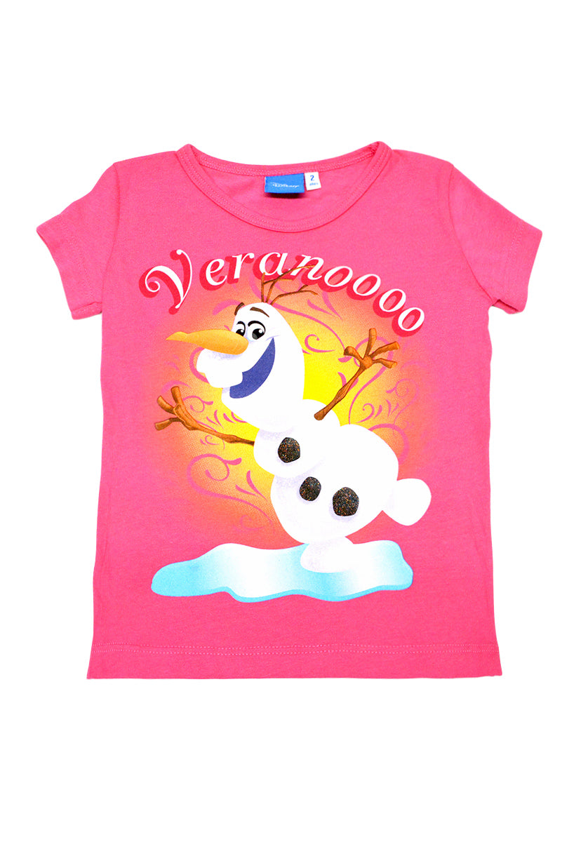 Blusa Olaf Coral - Frozen