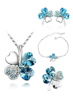 Set Aquamarine Lucky Color Azul