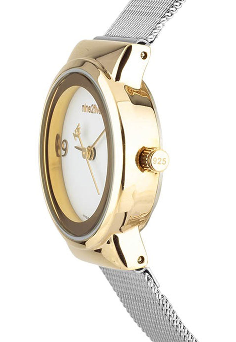Reloj Nine2Five AFW19O15SLGLS1 Plata - Nine2Five