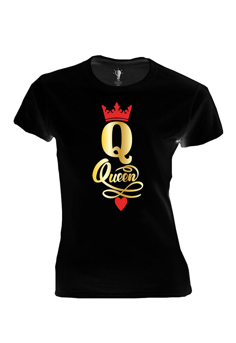 Playera Queen Negra - YEYNEX