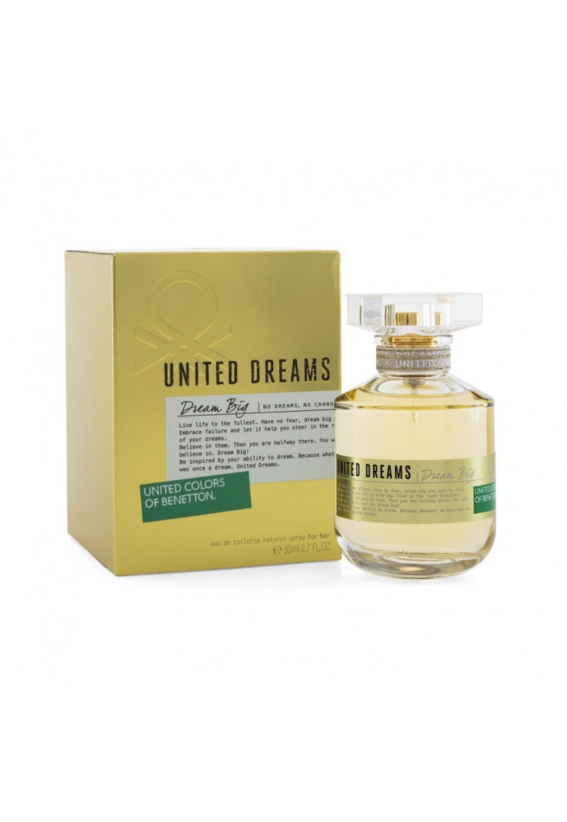 United Dreams Dream Big 80Ml Edt Spray - Benetton