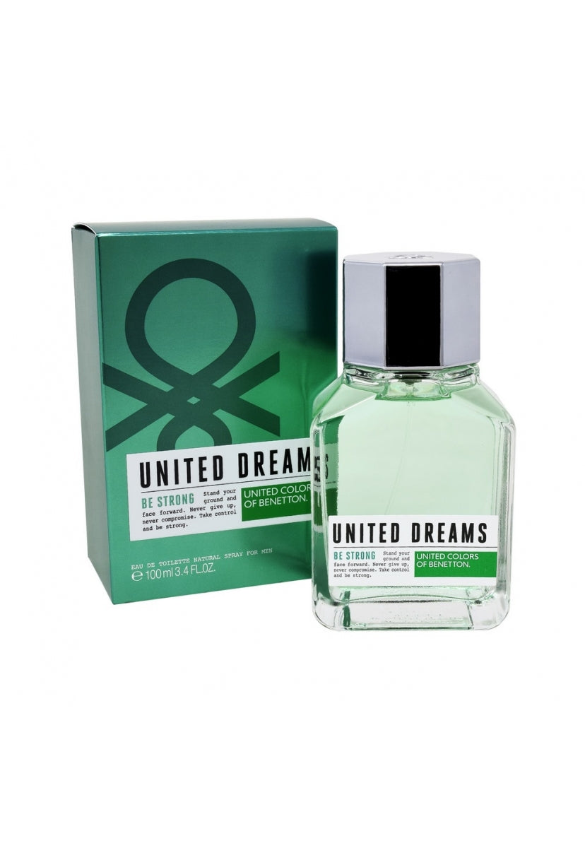 United Dreams Be Strong 100Ml Edt Spray - Benetton