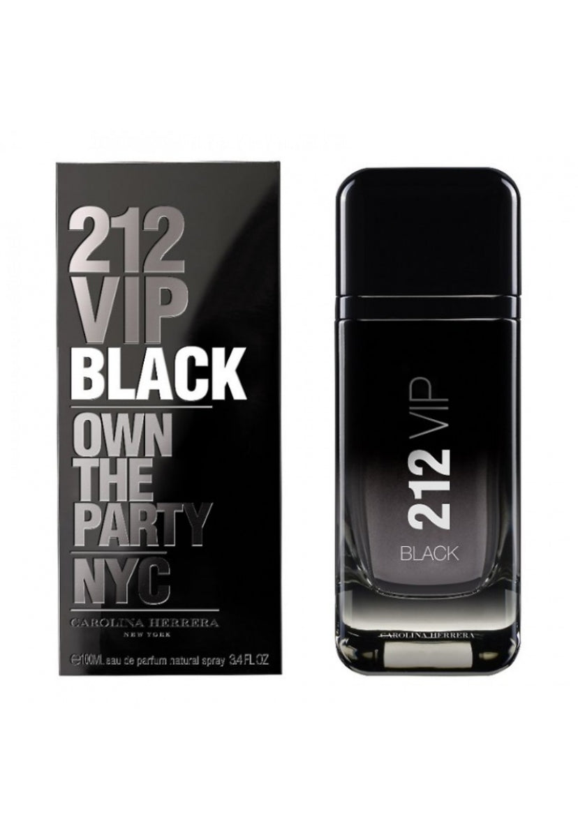 212 Vip Black Men 100 ml Eau de Parfum Spray de Carolina Herrera - Carolina Herrera