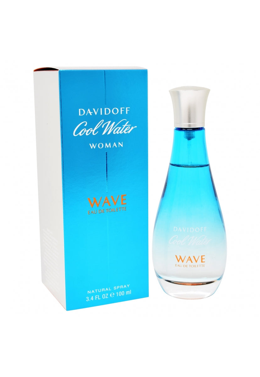 Cool Water Wave 100Ml Edt Spray - Davidoff