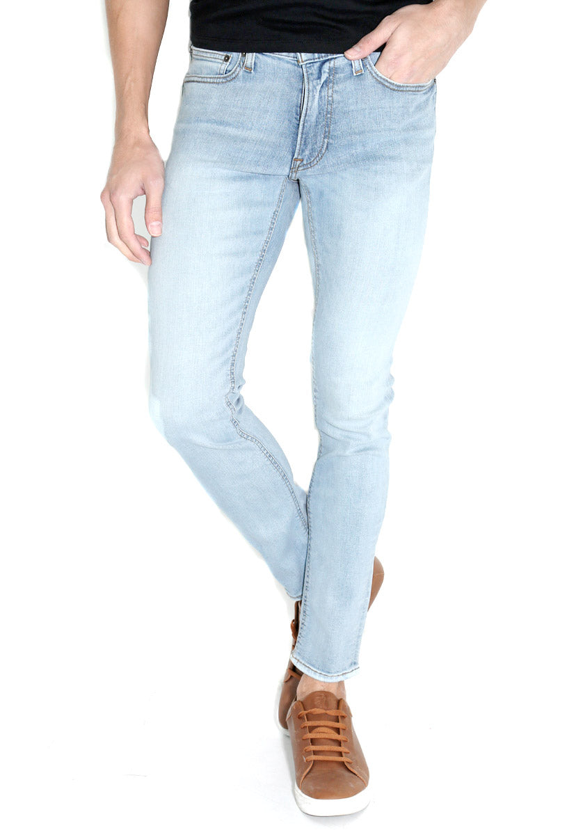 Skinny Stretch Medium Wash Jeans - false