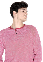 Striped Long Sleeve Henley