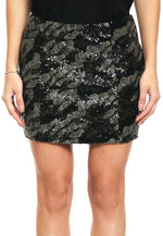 Falda Klara Sequin Skirt
