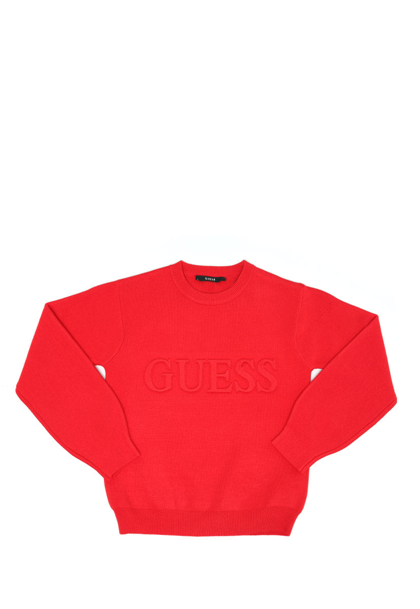 Rn Long Puff Sleeves Sweater - Guess