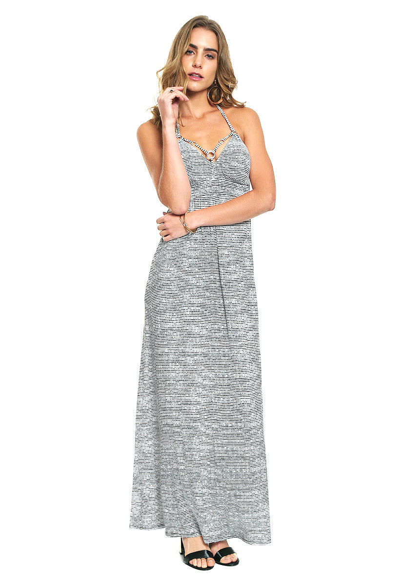 Maxi Vestido Sl Raine Ring Dress - Guess