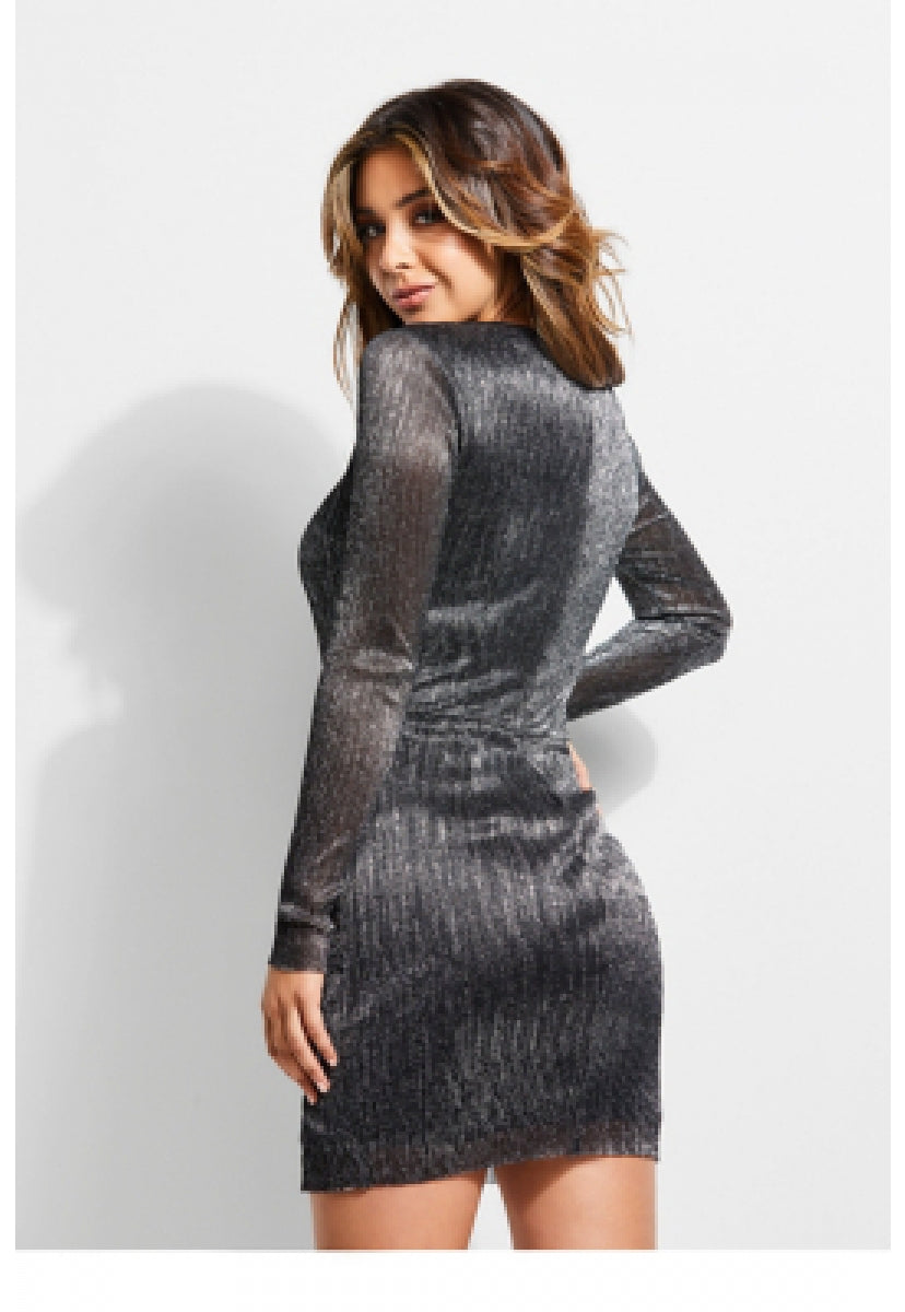 Ls Cosmo Dress - Guess
