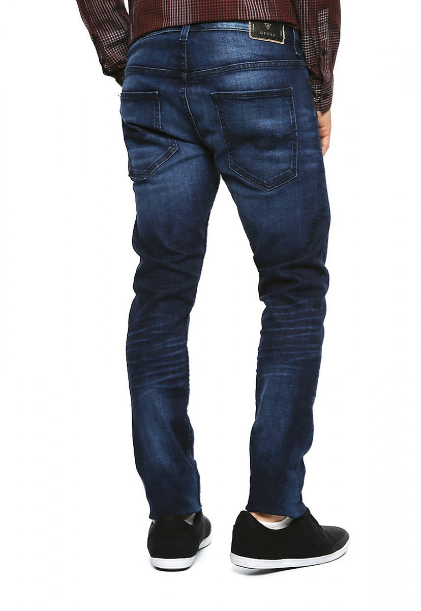 Jeans Skinny Azul Marino - Guess