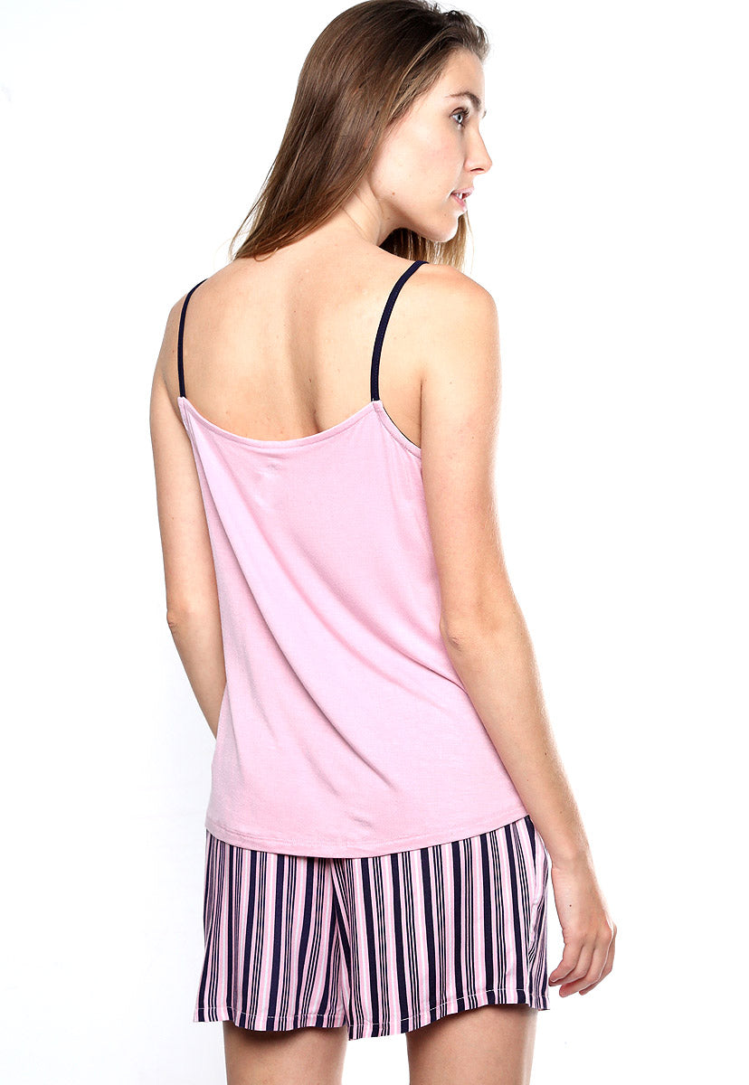 Pijama 2 pz Rosa con Azul - Juicy Couture