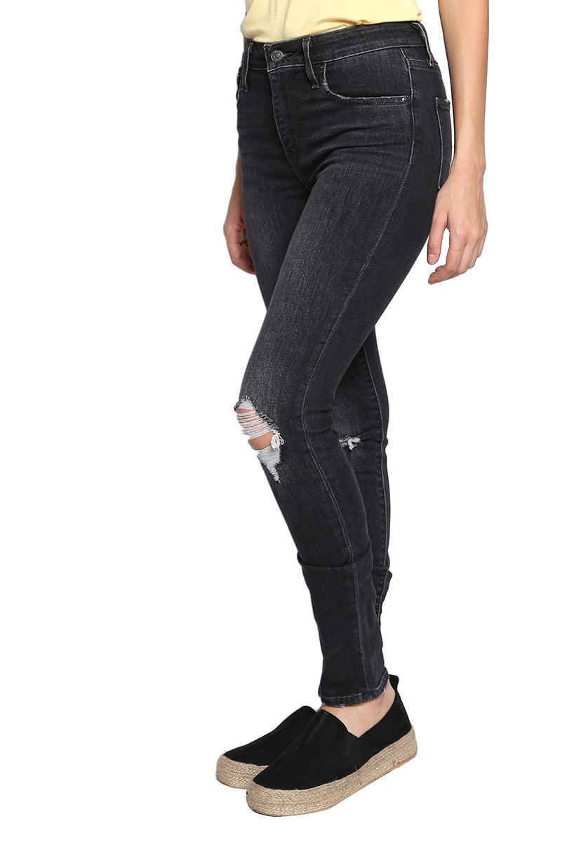 Jeans High Rise Skinny Negros - Levis