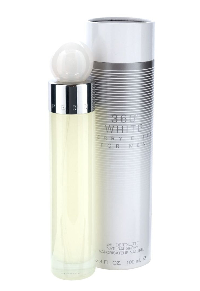 360º White for Men 100 ml EDT Spray - Perry Ellis