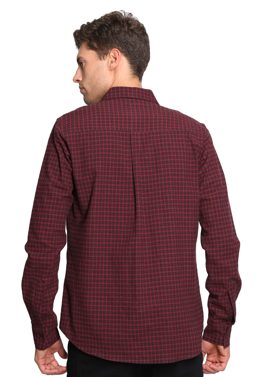 Camisa Vino Regular Fit - Rewind
