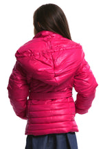 Pillow Collar Promo Puffer w/ Belt