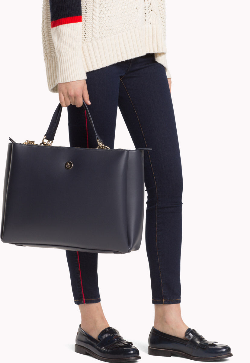 EFFORTLESS TOMMY SATCHEL - Tommy Hilfiger