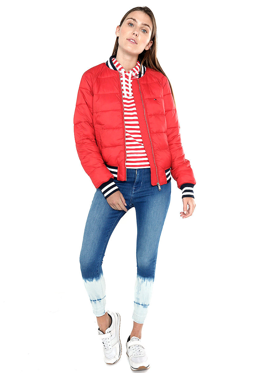 TJW QUILTED BOMBER - Tommy Jeans