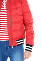 TJW QUILTED BOMBER