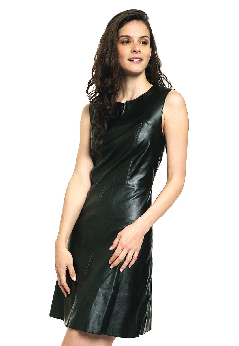 Vestido Negro sin Mangas Benetton - United Colors Of Benetton