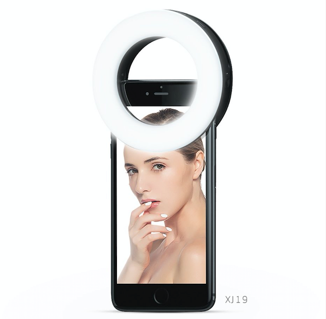 Mini LED Ring Light for Mobile - Ementer