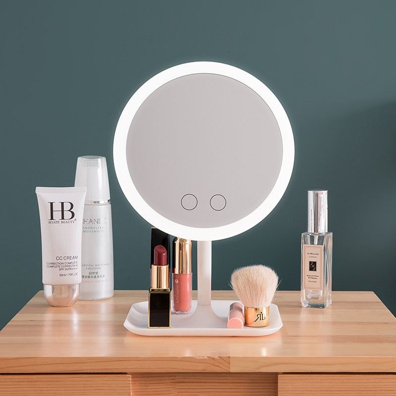 LED Ring Mirror - Ementer