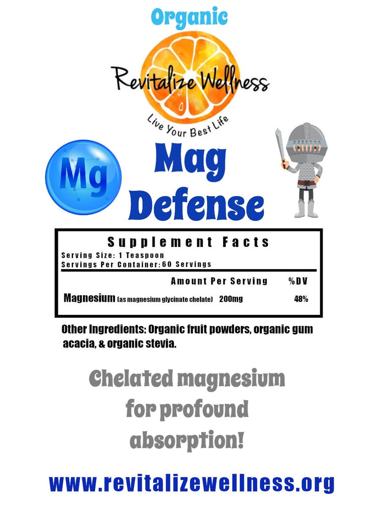 NEW Mag Defense - Chelated Magnesium Glycinate