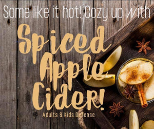 Cozy up with our newest flavor, Spiced Apple Cider! Coming early-September 🍂