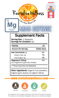 Mag Defense - Chelated Magnesium Glycinate 60 servings