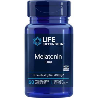 Life Extension Melatonin 3mg - 60 Capsules