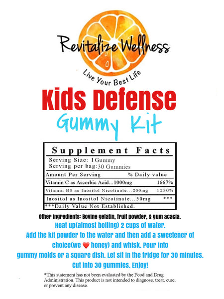 Kids Defense Gummy Kit