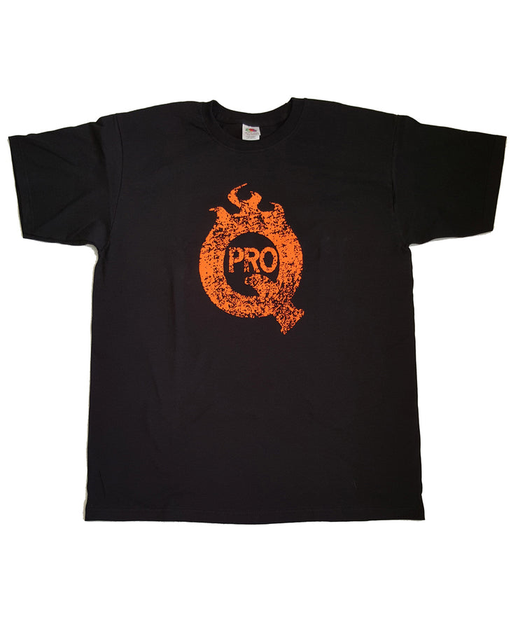 ProQ Distressed Print T-Shirt - Front