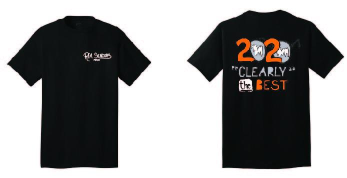 "RFA Seniors 2020 ""Clearly The Best"" T-Shirt"