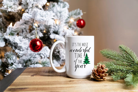 It's The Most Wonderful Time Of The Year - Mug