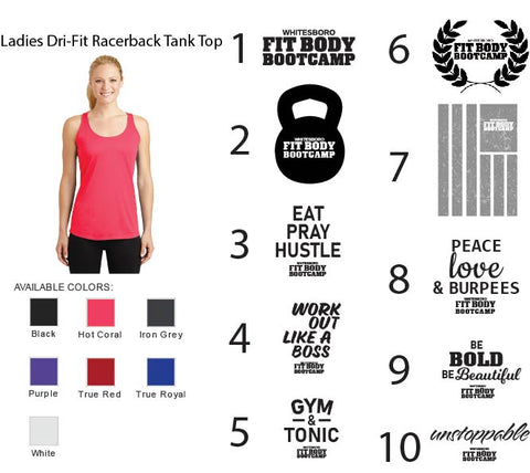 Ladies Dri-Fit Racerback Tank Top