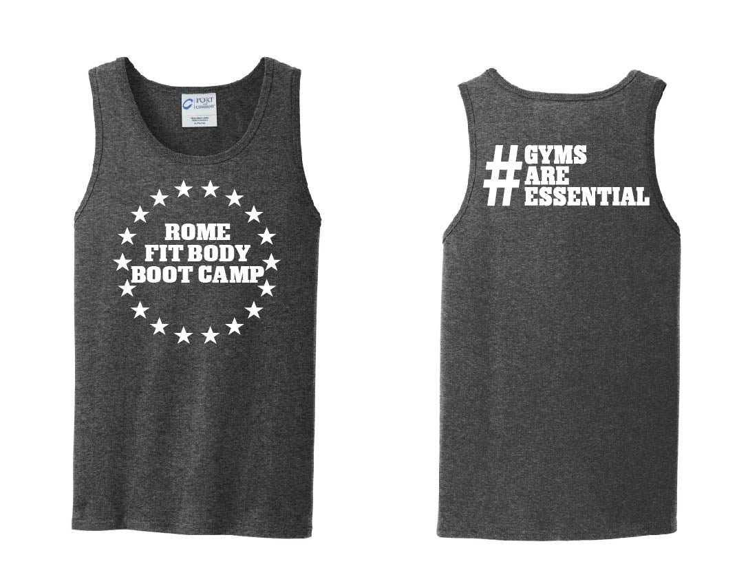 RFBBC - Gyms Are Essential Men's Cotton Tank Top