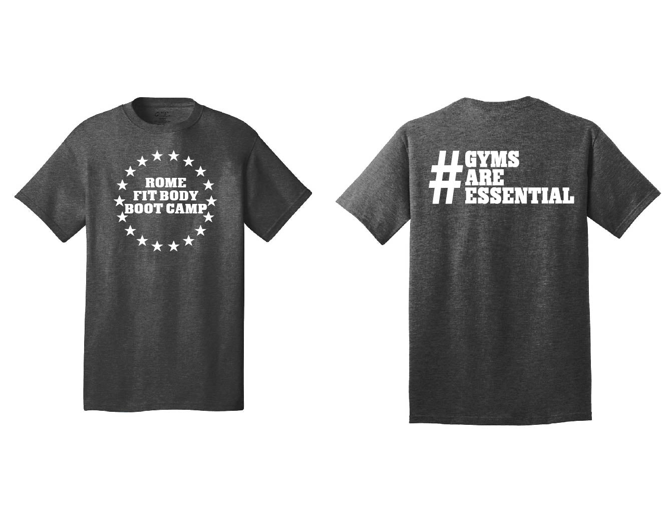 RFBBC - Gyms Are Essential Mens T-Shirt
