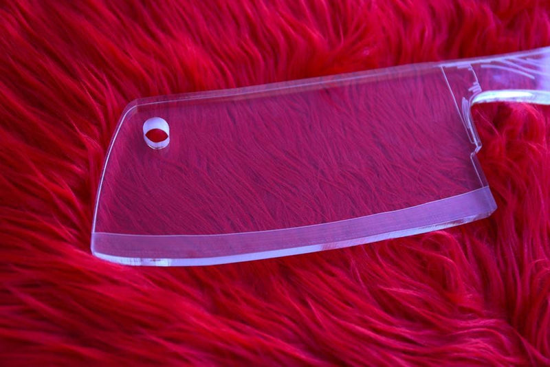 Meat Cleaver Acrylic Paddle